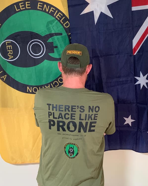 'There's no place like prone' Tee
