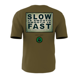 'Slow is smooth, Smooth is fast' Tee